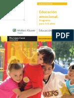 Educación emocional. Programa para 3-6 años - Elía López Cassa.pdf