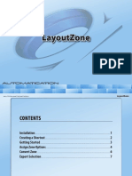Layout zone