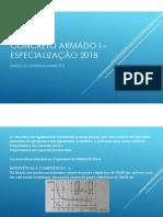 Concreto Armado I - Especialização 2018