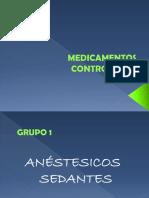 MEDICAMENTOS CONTROLADOS