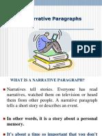 Narrative-Paragarph1.ppt