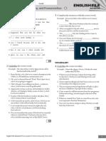 AMERICAN ENGLISH FILE 2 EDITION - ADVANCED 5 - TEST 9-10