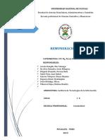 Auditoria de Las TICS - Remuneracion