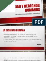 dignidad y derechos humanos