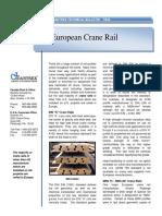 No. 46 European Crane Rail