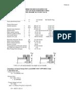 Flat Head Calculation (Based on Ug 34)