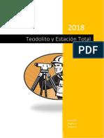 Teodolito y Estación Total-Informe