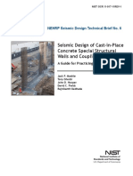 Seismic design of cast-in-place concrete special structural walls and coupling beams_Moehle.pdf