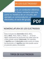 Presentacion de Electrodos