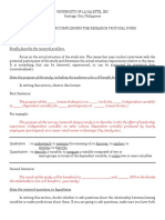 Research Concept Paper Template With Notes and Samples