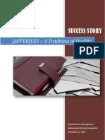 Success Story - Jafferjees