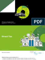 Deloitte Budget Update - 2019