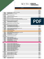 Lista de Precios SEYTU PUBLICO Per 2019 Junio