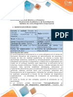 Syllabus Del Curso Diagnostico Empresarial