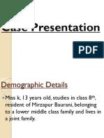 Case Presetation