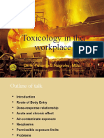 K3L Bab#8 Toxicology in the Workplace