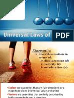 PhySci 2 Kinematics-Dynamics