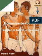 Homossexualidade - Até Kardec já falava