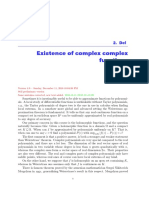 Complex Polynomial Approximation