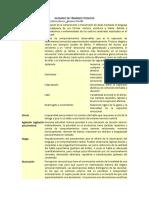 Glosario de Términos Técnicos de Psicopatologia