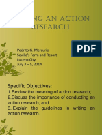 Making Action Research Work in the Public Schools