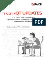 TCS NQT Questions V1.0