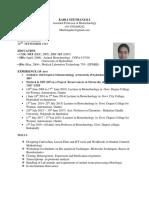 Geethanjali Resume