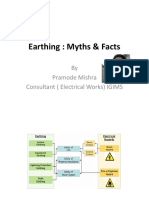 Earthing myths and facts