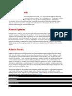 Online Bidding System Planning