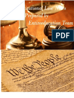 CSS Constitutional Law Notes