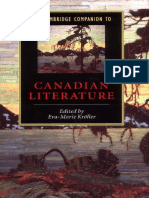 Eva-Marie Kroller - The Cambridge Companion to Canadian Literature (Cambridge Companions to Literature) (2004).pdf