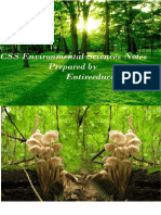 CSS Environmental Sciences
