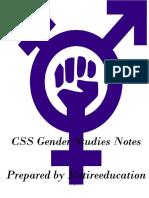 CSS Gender Studies