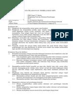 RPP Perhitungan tarif