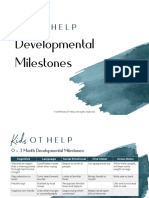 Developmental-milestones