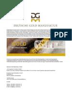 Deutsche Gold Manufaktur GmbH
