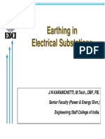 Earthing in Electrical Substations