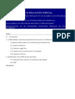 TEMA 18 -19 DISCAPACIDAD MOTORA EDUCACIoN ESPECIAL