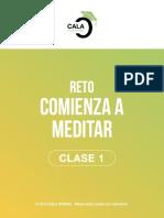 Reto Meditacion Clase 1