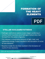 Formation of the Heavy Elements