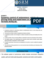 Dynamics Control of Autonomous Vehicle at Driving Limits and Experiment on an Autonomous Formula Rac - Copy