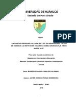 Canales Palomino, Moises Gerardo