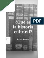 Burke Peter Que Es La Historia Cultural