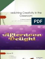 Teaching Creativity in the Classroom - Dr Rico.pdf