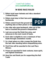 Slow Bike Race Rules 2