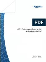 Riverflow2D GPU Tests 2019