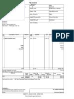 Sale Invoice