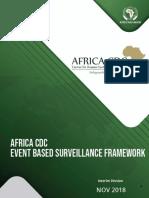 Africa CDC EBS Framework - En