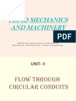 Fluid Mechanics and Machinery II