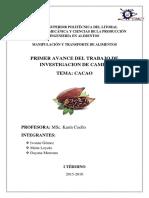 PRIMER AVANCE CACAO.docx